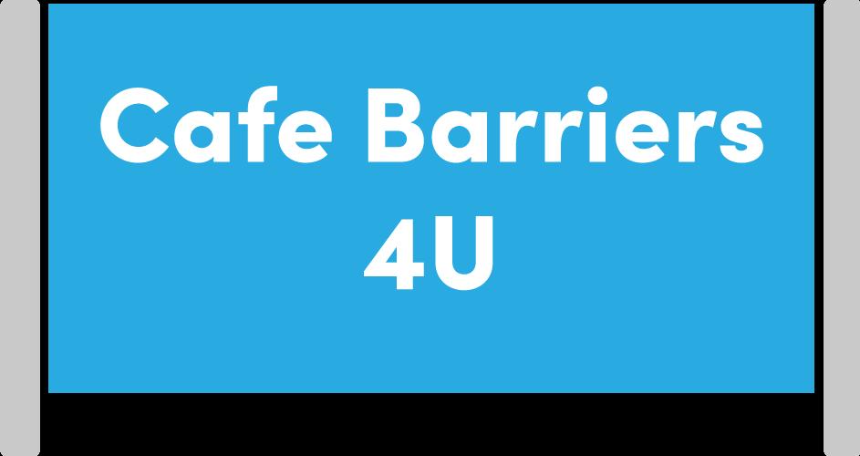 Cafe Barriers 4 U Logo